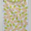 Hand Block Printed Pineapple Tea Towel