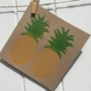 Pineapple Printed Card