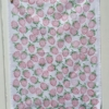 Strawberry Block Printed Tea Towel