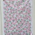 Strawberry Block Printed Tea Towel