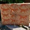 Fox Printed Wrapping Paper