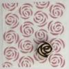 Indian Block Printed Fabric- Large Rose
