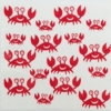 Indian Block Printed Fabric - Crab