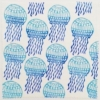 Indian Block Printed Fabric - Jellyfish