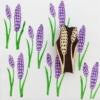 Indian Block Printed Fabric - Lavender Pod