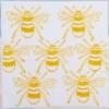 Indian Wooden Printing Block- Large Bumble Bee