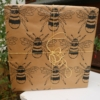 Large Detailed Bee Wrapping Paper