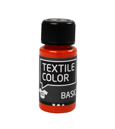 Textile Color Orange