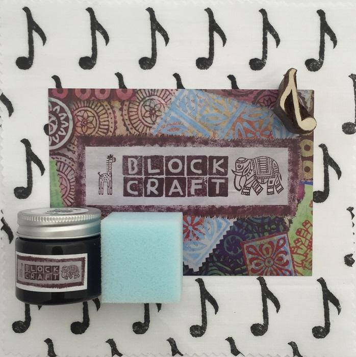 Indian Wooden Block Printing Kit