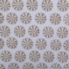 Block Printed Fabric- Latte