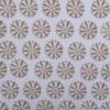 Block Printed Fabric- Latte