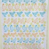 Block Printed Chicken Tea Towel