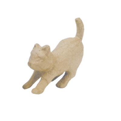 AP601 Decopatch Animal Pouncing Cat
