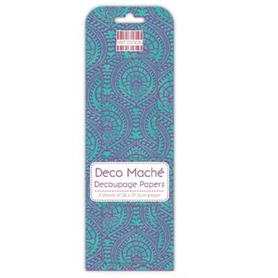 FEDEC256 Deco Mache Paper