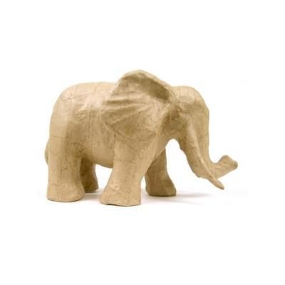 SA179 Trunk Down Elephant Decopatch