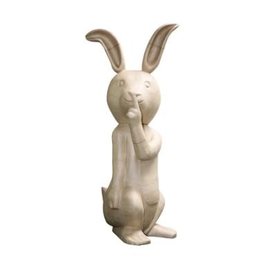XLA23 Rabbit Shh Decopatch
