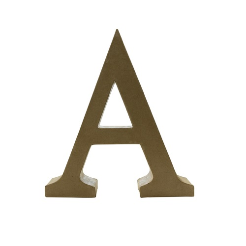ac454 Decopatch Funky Letter A