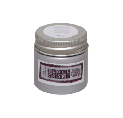 Block Craft Fabric Paint- Silver