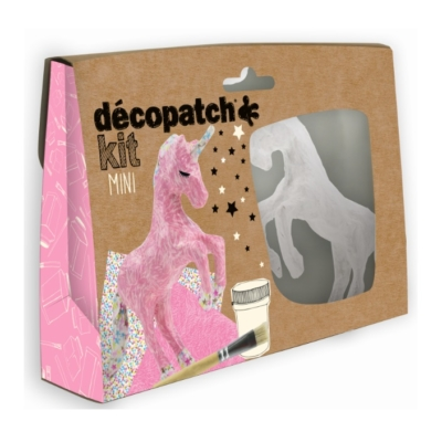 Decopatch Mini Unicorn Kit