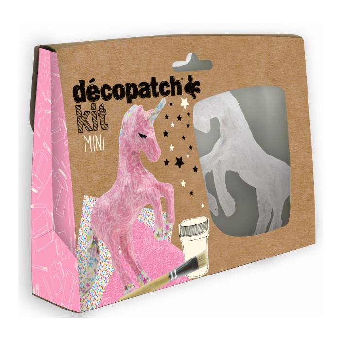 Decopatch Mini Unicorn Kit