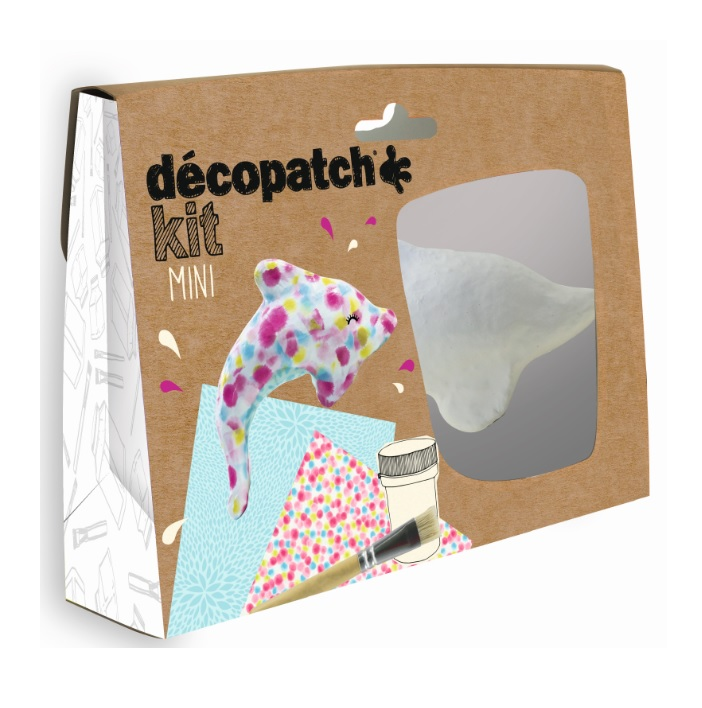 Decopatch Mini Dolphin Kit