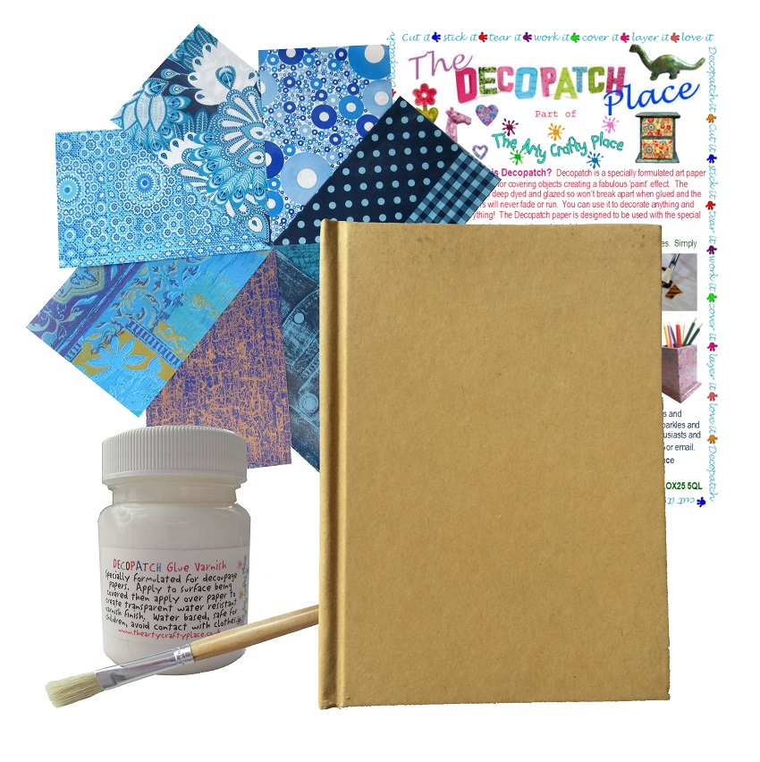 Large Notebook Decopatch Kit