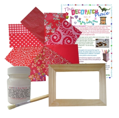 Picture Frame Decopatch Kit