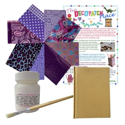 Small Notebook Decopatch Kit