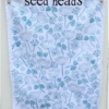Seed Head Block Printed Tea Towel