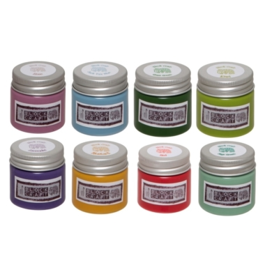 Set of Spring Fabric Paints