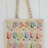 Indian Block Printed Tote Bag