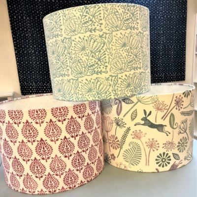 Lampshade Block Printing Workshop