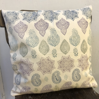 Block Printed Cushion Cover- Workshop