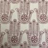 Indian Wooden Printing Block- Indian Hamsa Hand Print