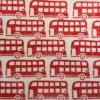 Indian Wooden Printing Block- London Bus Print