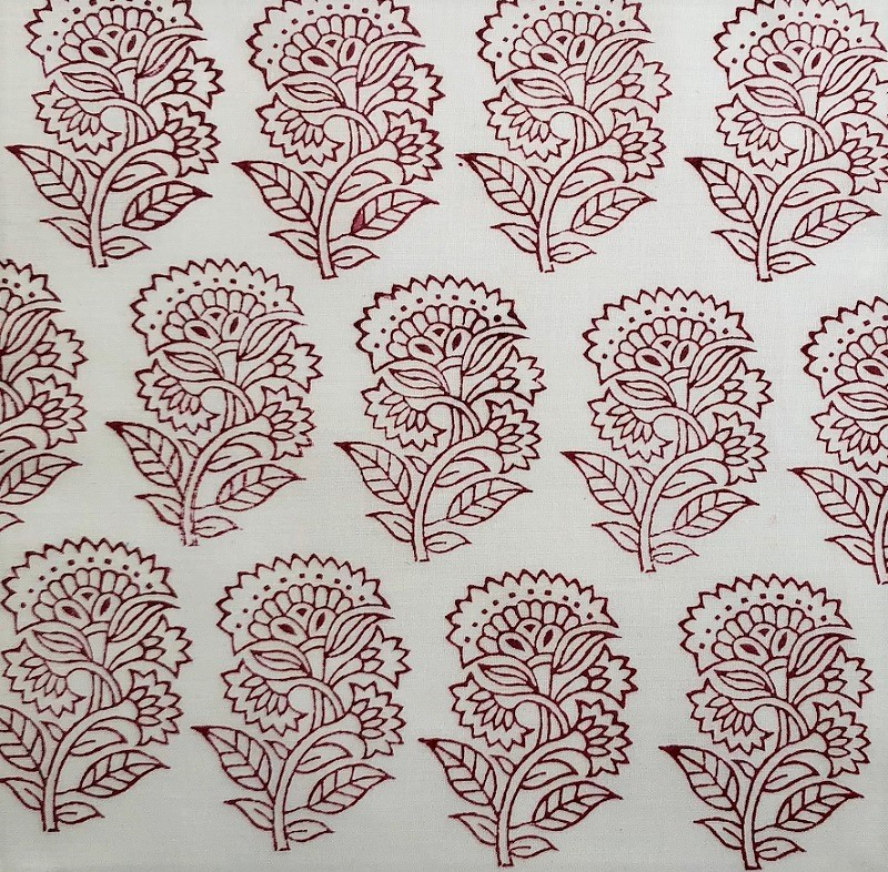 Indian Wooden Printing Block- Traditional Paisley - Arty