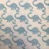Indian Block Printing- Apatosaurus Fabric Print