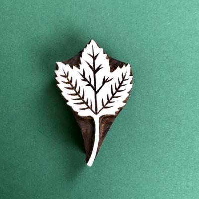 Indian Wooden Printing Block- Ivy