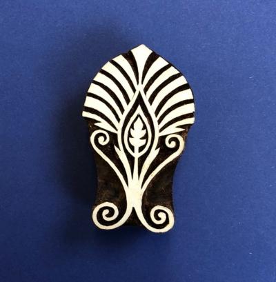 Indian Wooden Printing Block- Royal Motif