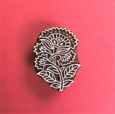 Indian Wooden Printing Block- Traditional Paisley
