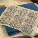 Indian Printing Block- Meadow Block