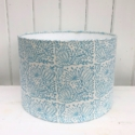 Block Print a Lampshade Kit- 30cm Seed Head Repeat Design
