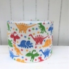 Indian Block Printed Dinosaur 30cm Lampshade