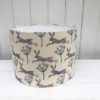 Block Printed Lampshade Kit- Hare and Seed Head Design