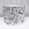 Mixed Seed Head and Leaping Hare Lampshade Printing Kit- Deluxe