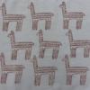 Indian Wooden Printing Block Alpaca Fabric Sample