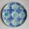 Block Printed Clay Plate