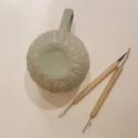 Clay Leaf Mug 2