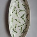 Clay Leaf Platter