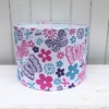 30cm Hand Block Printed Drum Lampshade- Lampshade Kit